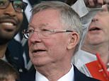 Manchester United's Scottish former manager Alex Ferguson attends the English Premier League football match between Manchester United and Everton at Old Trafford in Manchester, north west England, on April 3, 2016. / AFP PHOTO / OLI SCARFF / RESTRICTED TO EDITORIAL USE. No use with unauthorized audio, video, data, fixture lists, club/league logos or 'live' services. Online in-match use limited to 75 images, no video emulation. No use in betting, games or single club/league/player publications.  / OLI SCARFF/AFP/Getty Images