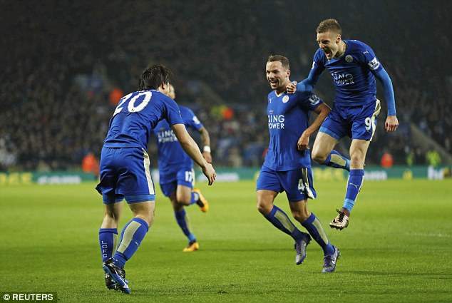 Leicester have shown no signs of slipping up having been top of the league for several months