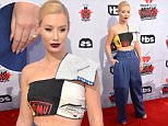 OIC - FEATUREFLASH.COM - Iggy Azalea at The 2016 iHeart Radio Music Awards at the Forum in Los Angeles 3rd April 2016 \nPhoto Paul Smith/FeatureFlash/OIC\nCall OIC 0203 174 1069 for fees and usages or contact@oicphotos.com