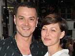 Mandatory Credit: Photo by Can Nguyen/REX/Shutterstock (4913925ag) Matt Willis and Emma Willis 'American Idiot' musical press night, The Arts Theatre, London, Britain - 22 Jul 2015