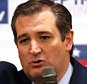 Republican presidential candidate Ted Cruz speaks Sunday, April 3, 2016 at Florian Gardens in Eau Claire, Wis.  Cruz spent the day campaigning in Wisconsin in advance of the state's Tuesday primary election.  (Steve Kinderman/The Eau Claire Leader-Telegram via AP)