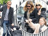 3 April 2016 - EXCLUSIVE.\nAbbey Clancy and Peter Crouch are seen out with their family in Chelsea this afternoon after having Sunday lunch at The Ivy. \n*Exclusive to GoffPhotos.com*\nCredit: Ben Eade/GoffPhotos.com   Ref: KGC-102\n**Exclusive to GoffPhotos.com - Newspapers Allrounder - Magazines Double Space Rates - Web/Online Must Call Before Use**