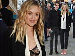 4th April 2016\n\nThe Rolling Stones Exhibitionism - private view held at Saatchi Gallery, King's Road, London.\n\nHere: Fearne Cotton\n\nCredit: Justin Goff/Goffphotos
