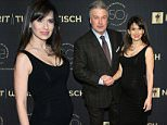 Mandatory Credit: Photo by Erik Pendzich/REX/Shutterstock (5623314b)\nAlec Baldwin and Hilaria Baldwin\nNYU Tisch School of the Arts 50th Anniversary Gala, New York, America - 04 Apr 2016\n