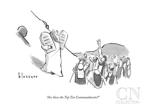 New Yorker Cartoon by John Klossner at the Condé Nast Collection