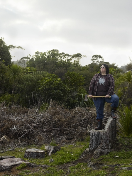 Catherine Opie, Self Portrait/ New Zealand