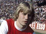 Mark Heeley of Arsenal, at Highbury, circa 1978. (Photo by Bob Thomas/Getty Images)