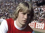 Mark Heeley of Arsenal, at Highbury, circa 1978. (Photo by Bob Thomas/Getty Images)