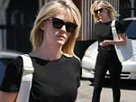 04.April.2016 - Beverly Hills ñ USA\n*** STRICTLY AVAILABLE FOR UK AND GERMANY USE ONLY ***\nBeverly Hills, CA - January Jones boasts a beautiful new hair do after leaving the salon. The blonde bombshell is seen wearing all black with strappy sandals and a white tote bag for contrast.\nBYLINE MUST READ : AKM-GSI-XPOSURE\n***UK CLIENTS - PICTURES CONTAINING CHILDREN PLEASE PIXELATE FACE PRIOR TO PUBLICATION ***\n*UK CLIENTS MUST CALL PRIOR TO TV OR ONLINE USAGE PLEASE TELEPHONE 0208 344 2007*\n