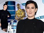 Mandatory Credit: Photo by Startraks Photo/REX/Shutterstock (5623283o)\nRumer Willis,C-3PO, R2-D2\nRumer Willis at SiriusXM, New York, America - 04 Apr 2016\nRumer Willis at SiriusXM\n
