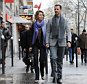 Syrian president Bashar al-Assad and his wife Asma walk in a street of Paris on December 10, 2010. Al-Assad is on a two-days official visit to France.      AFP PHOTO MIGUEL MEDINA (Photo credit should read MIGUEL MEDINA/AFP/Getty Images)