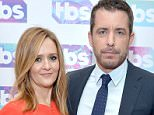 PASADENA, CA - JANUARY 07:  Actors/producers Samantha Bee (L) and Jason Jones attend the 2016 TCA Turner Winter Press Tour Presentation at the Langham Hotel on January 7, 2016 in Pasadena, California. 25807_001  (Photo by Charley Gallay/Getty Images for Turner)