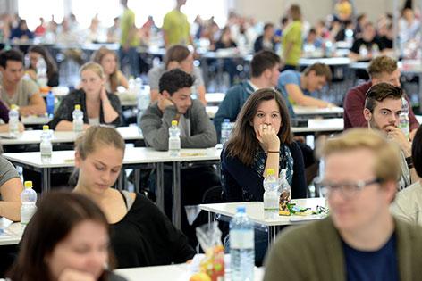 Начались экзамены на обучение в Венском университете