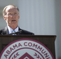 Gov. Robert Bentley speaks during Alabama Community College Day on the Alabama Capitol lawn on Tuesday, April 5, 2016, in Montgomery, Ala. Republican Rep. Ed Henry says he is filing an impeachment resolution against Gov. Bentley in the wake of a scandal involving one of the governor¿s top aides, who has since resigned. The resolution will likely be sent to the House Rules Committee for consideration.   (Albert Cesare/Montgomery Advertiser via AP)