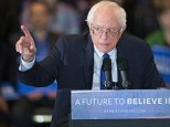 MILWAUKEE, WISCONSIN - APRIL 04:  Democratic presidential candidate Senator Bernie Sanders (D-VT) speaks to guests at a campaign rally at the Wisconsin Convention Center on April 4, 2016 in Milwaukee, Wisconsin. Voters in Wisconsin go to the polls tomorrow for the state's primary.  (Photo by Scott Olson/Getty Images)