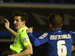 BIRMINGHAM, ENGLAND - APRIL 05:  Lewis Dunk (2R) of Brighton and Hove Albion scores his sides second goal during the Sky Bet Championship match between Birmingham City and Brighton and Hove Albion at St Andrews on April 5, 2016 in Birmingham, United Kingdom.  (Photo by Michael Steele/Getty Images)