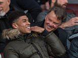Apr 4th 2016 - Manchester, UK - MAN UTD  v Chelsea U21 -  Man Utd van Gaal Chelsea U21 PIcture by Ian Hodgson/Daily Mail