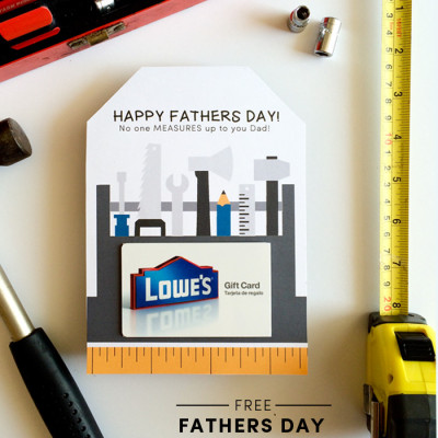 Fathers Day Printable Card