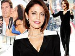 """NEW YORK, NEW YORK - APRIL 05:  Bethenny Frankel visits """"Extra"""" at their New York studios at H&M in Times Square on April 5, 2016 in New York City.  (Photo by D Dipasupil/Getty Images for Extra)"""