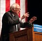LARAMIE, WYOMING - APRIL 05: Democratic presidential candidate Sen. Bernie Sanders (D-VT) speaks during a rally on April 5, 2016 in Laramie, Wyoming. Sanders spoke to a large crowd on the University of Wyoming campus after winning the primary in Wisconsin. (Photo by Theo Stroomer/Getty Images)