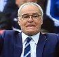 3 April 2016 - Barclays Premier League - Leicester City v Southampton - Leicester City manager,Claudio Ranieri - Photo: Marc Atkins / Offside.