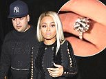 West Hollywood, CA -  Are Rob Kardashian and Blac Chyna officially engaged? Blac showed off a sparkling ring on that finger as she headed to Ace of Diamonds strip club with her possible new fiancee. She shared the news on Instagram with a photo of her ring and the word, 'Yes!!!'.  Blac's mom has reportedly already given her seal of approval to have Rob as her new son-in-law. AKM-GSI         April 4, 2016 To License These Photos, Please Contact : Steve Ginsburg (310) 505-8447 (323) 423-9397 steve@akmgsi.com sales@akmgsi.com or Maria Buda (917) 242-1505 mbuda@akmgsi.com ginsburgspalyinc@gmail.com