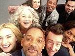 06 April 2016 Collateral Beauty cast, Will Smith, Kate Winslet, Helen Mirren, Keira Knightley, Edward Norton, Naomie Harris and Michael PeÒa  pictured in this celebrity social media photo! BYLINE MUST READ : SUPPLIED BY XPOSUREPHOTOS.COM *XPOSURE PHOTOS DOES NOT CLAIM ANY COPYRIGHT OR LICENSE IN THE ATTACHED MATERIAL. ANY DOWNLOADING FEES CHARGED BY XPOSURE ARE FOR XPOSURE'S SERVICES ONLY, AND DO NOT, NOR ARE THEY INTENDED TO, CONVEY TO THE USER ANY COPYRIGHT OR LICENSE IN THE MATERIAL. BY PUBLISHING THIS MATERIAL , THE USER EXPRESSLY AGREES TO INDEMNIFY AND TO HOLD XPOSURE HARMLESS FROM ANY CLAIMS, DEMANDS, OR CAUSES OF ACTION ARISING OUT OF OR CONNECTED IN ANY WAY WITH USER'S PUBLICATION OF THE MATERIAL* *UK CLIENTS MUST CALL PRIOR TO TV OR ONLINE USAGE PLEASE TELEPHONE 0208 344 2007*