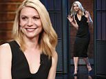 LATE NIGHT WITH SETH MEYERS -- Episode 350 -- Pictured: Actress Claire Danes arrives on April 4, 2016 -- (Photo by: Lloyd Bishop/NBC/NBCU Photo Bank via Getty Images)