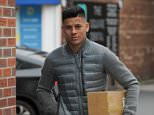 Manchester united defender Marcos Rojo spotted in Cheshire leaving the Post Office then nipping to do a little shopping after the players resume to domestic duties at Carrington preparing for the game at Old Trafford against Everton at Old Trafford. \nThe Argentinean who was filmed smoking in Argentina at the weekend.\n\n01/04/2016\n\nBy line...Jon Baxter\n\nPICTURE SHOWS...