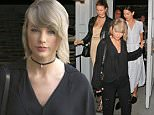 Picture Shows: Taylor Swift  April 05, 2016\n \n Singer Taylor Swift is spotted out shopping for fragrance with her bodyguards at Tobi Tobin in Brentwood, California. Afterwards Taylor stopped by Gracias Madre for dinner.\n \n Non Exclusive\n UK RIGHTS ONLY\n \n Pictures by : FameFlynet UK © 2016\n Tel : +44 (0)20 3551 5049\n Email : info@fameflynet.uk.com