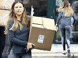 Picture Shows: Sofia Vergara  April 05, 2016    Actress Sofia Vergara is spotted running some solo errands in  Wilmington, North Carolina.     Sofia, was spotted at the gym, before stopping by UPS and the Fresh Market. Sofia was carrying a box that says 'Smoothies Made Simple' as she left the UPS store.     Exclusive - All Round  UK RIGHTS ONLY    Pictures by : FameFlynet UK © 2016  Tel : +44 (0)20 3551 5049  Email : info@fameflynet.uk.com
