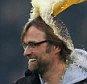 Jurgen Klopp, Borussia Dortmund coach is soaked in the celebrations