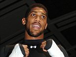 Match room open Session, York Hall 04/04/16: Picture Kevin Quigley/Daily Mail ANTHONY JOSHUA