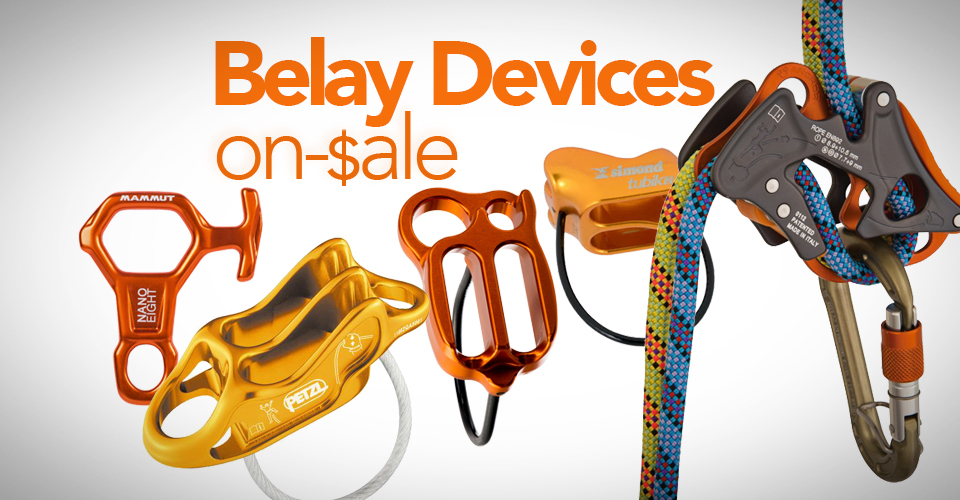 Best deals and sales on Belay Devices