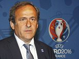 UEFA President Michel Platini attends the EURO 2016 Logo and Slogan Launch on June 26, 2013 in Paris, France.     PARIS, FRANCE - JUNE 26:  (Photo by Xavier Laine/Getty Images)