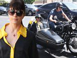 Picture Shows: Selma Blair  April 05, 2016\n \n 'Anger Management' actress Selma Blair was spotted riding on a motorcycle with a mystery man in Los Angeles, California. The two were out to lunch together and left on the bike. \n \n Non-Exclusive\n UK RIGHTS ONLY\n \n Pictures by : FameFlynet UK � 2016\n Tel : +44 (0)20 3551 5049\n Email : info@fameflynet.uk.com
