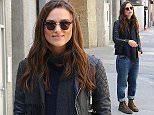 Keira Knightly wa spotted out and about this afternoon after filming Collateral Beauty\n\nPictured: Keira Knightly\nRef: SPL1258086  060416  \nPicture by: Splash News\n\nSplash News and Pictures\nLos Angeles: 310-821-2666\nNew York: 212-619-2666\nLondon: 870-934-2666\nphotodesk@splashnews.com\n