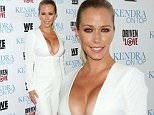 """WEST HOLLYWOOD, CALIFORNIA - MARCH 31:  Reality TV Personality Kendra Wilkinson attends the premiere of """"Kendra On Top"""" and """"Driven To Love"""" at Estrella Sunset on March 31, 2016 in West Hollywood, California.  (Photo by Paul Archuleta/FilmMagic)"""