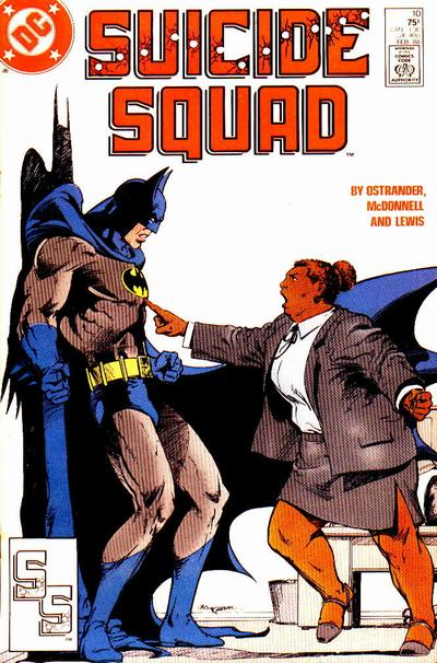 Amanda Waller can kick Batman's ass.