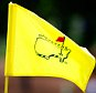 AUGUSTA, GEORGIA - APRIL 06:  A pin flag is displayed during a practice round prior to the start of the 2016 Masters Tournament at Augusta National Golf Club on April 6, 2016 in Augusta, Georgia.  (Photo by Kevin C. Cox/Getty Images)