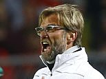 Football Soccer - Borussia Dortmund v Liverpool - UEFA Europa League Quarter Final First Leg - Signal Iduna Park, Dortmund, Germany - 7/4/16  Liverpool manager Juergen Klopp   Reuters / Wolfgang Rattay  Livepic  EDITORIAL USE ONLY.