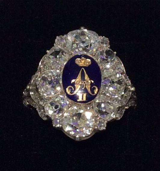 Ring des Zar Alexander II von Russland