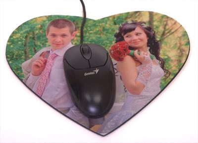 килимок для мишки серце