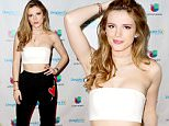 MIAMI, FL - APRIL 7:  Actress Bella Thorne is seen on the set of 'Despierta America' to promote the film 'Ratchet Clank' at Univision Studios on April 7, 2016 in Miami, Florida.  (Photo by Alexander Tamargo/WireImage)