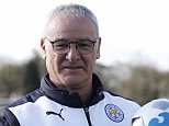 **EMBARGOED UNTIL 0600 FRIDAY APRIL 8, 2016** Claudio Ranieri and Harry Kane win Barclays Manager & Player of the Month awards