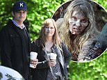 EXCLUSIVE Ashton Kutcher and his sister Tausha Kutcher walking in north London after stopping at Starbucks Featuring: Ashton Kutcher, Tausha Kutcher Where: london, United Kingdom When: 04 Jun 2013 Credit: WENN.com