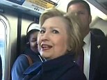 HILLARY CLINTON IN NEW YORK.