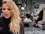 """LOS ANGELES, CALIFORNIA.  April 6, 2016 ñ Kocktails with Khloe\nKhloe is joined by Tisha Campbell-Martin, Jeannie Mai, Ta'Rhonda Jones, Cardi B, James Maslow, and chef Sharone Hakman.\nKhloe Kardashian invites celebrity guests into her kitchen for a lively dinner party.\nPhotograph:© fyi, """"Disclaimer: CM does not claim any Copyright or License in the attached material. Any downloading fees charged by CM are for its services only, and do not, nor are they intended to convey to the user any Copyright or License in the material. By publishing this material, The Daily Mail expressly agrees to indemnify and to hold CM harmless from any claims, demands or causes of action arising out of or connected in any way with user's publication of the material.""""\n"""