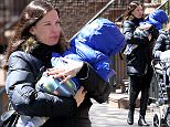 EXCLUSIVE: Actress Liv Tyler walks home with her son Sailor Gardner in New York City on April 5, 2016.  Pictured: Liv Tyler,Sailor Gardner Ref: SPL1257967  050416   EXCLUSIVE Picture by: Christopher Peterson/Splash News  Splash News and Pictures Los Angeles: 310-821-2666 New York: 212-619-2666 London: 870-934-2666 photodesk@splashnews.com