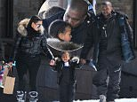 04/07/2016\nEXCLUSIVE: After a morning of hitting the slopes of Vail Colorado the Kardashian family cuts the day short with lunch at Mid-Vail. After lunch the family chose to stretched out on the veranda where Kayne and North West shared some cute moments together while Khloe treated the kids to piggy-back rides. Afterwards the whole clan opted to walk to the nearest gondola for the trip back down the mountain. \nsales@theimagedirect.com Please byline:TheImageDirect.com\n*EXCLUSIVE PLEASE EMAIL sales@theimagedirect.com FOR FEES BEFORE USE